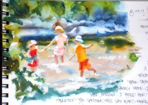 Kids in Creek